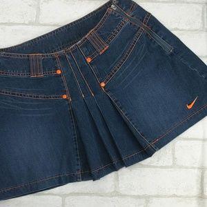 Nike Girls Denim Skirt